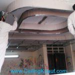 پانل گذاری سقف کاذب کناف