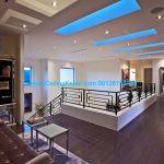 سقف کاذب با نور مخفی آبی
