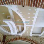 سقف کاذب بتونه شده