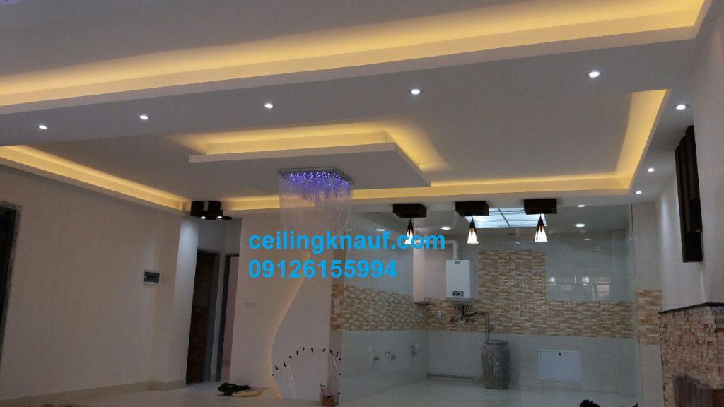 طرح سقف سالن پذیرایی شهرری