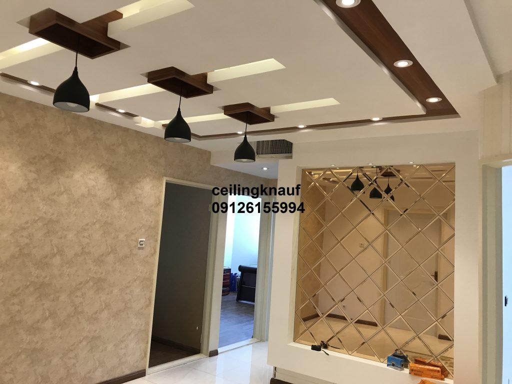 سقف کاذب کناف با نورپردازی