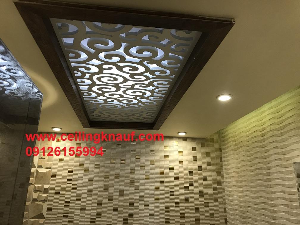 سقف کاذب کناف سرویس بهداشتی