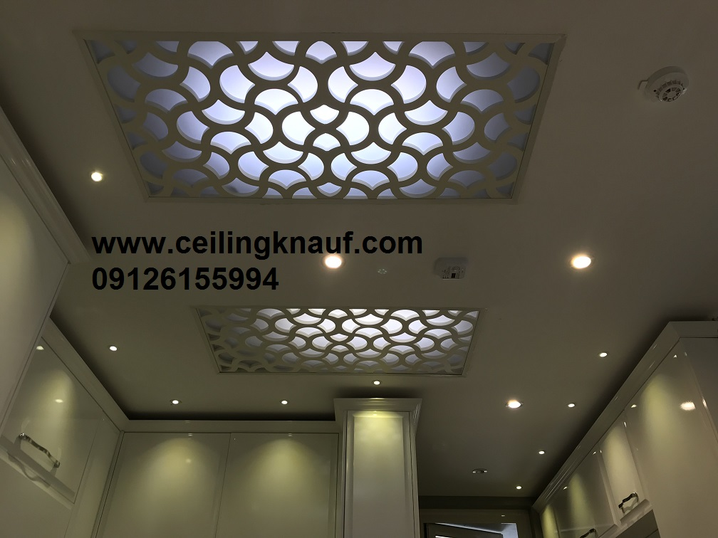 سقف کاذب cnc آشپزخانه سعادت آباد