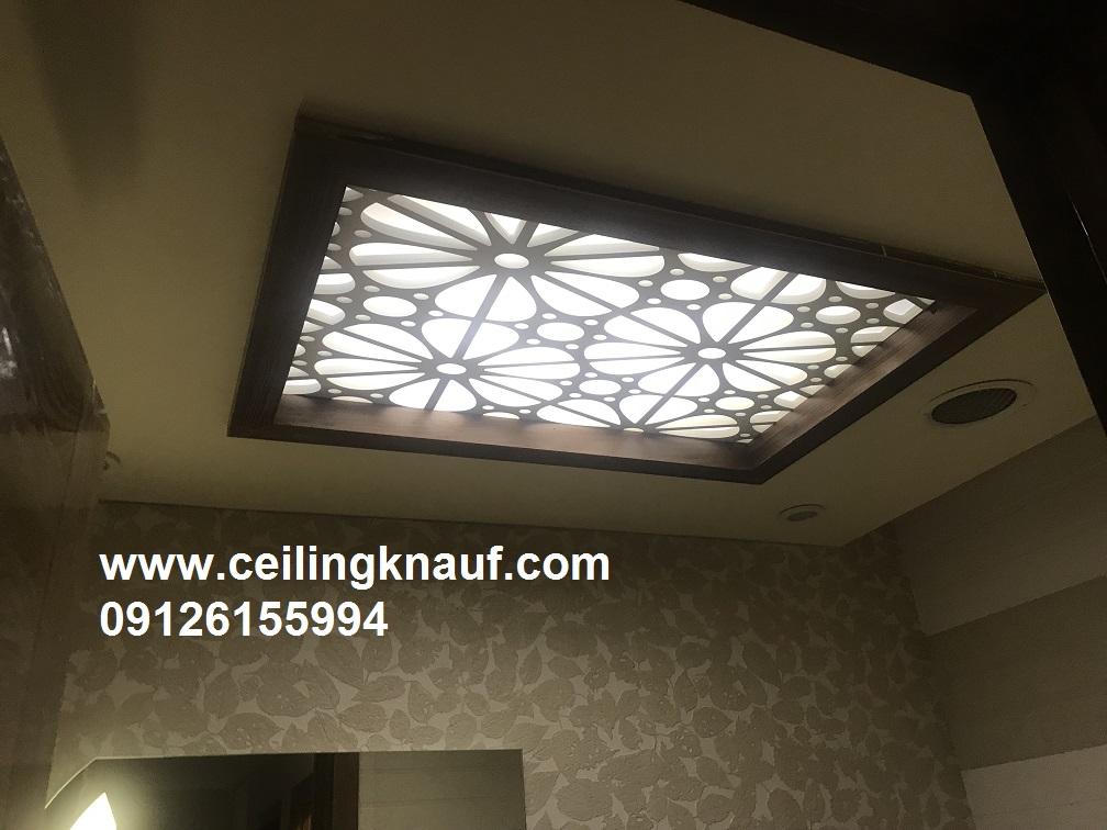 سقف کاذب با cnc سرویس بهداشتی